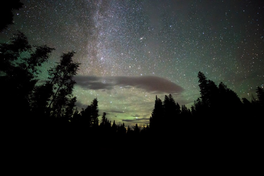 Perseids at Great Basin National Park